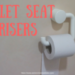 Toilet seat risers and extenders