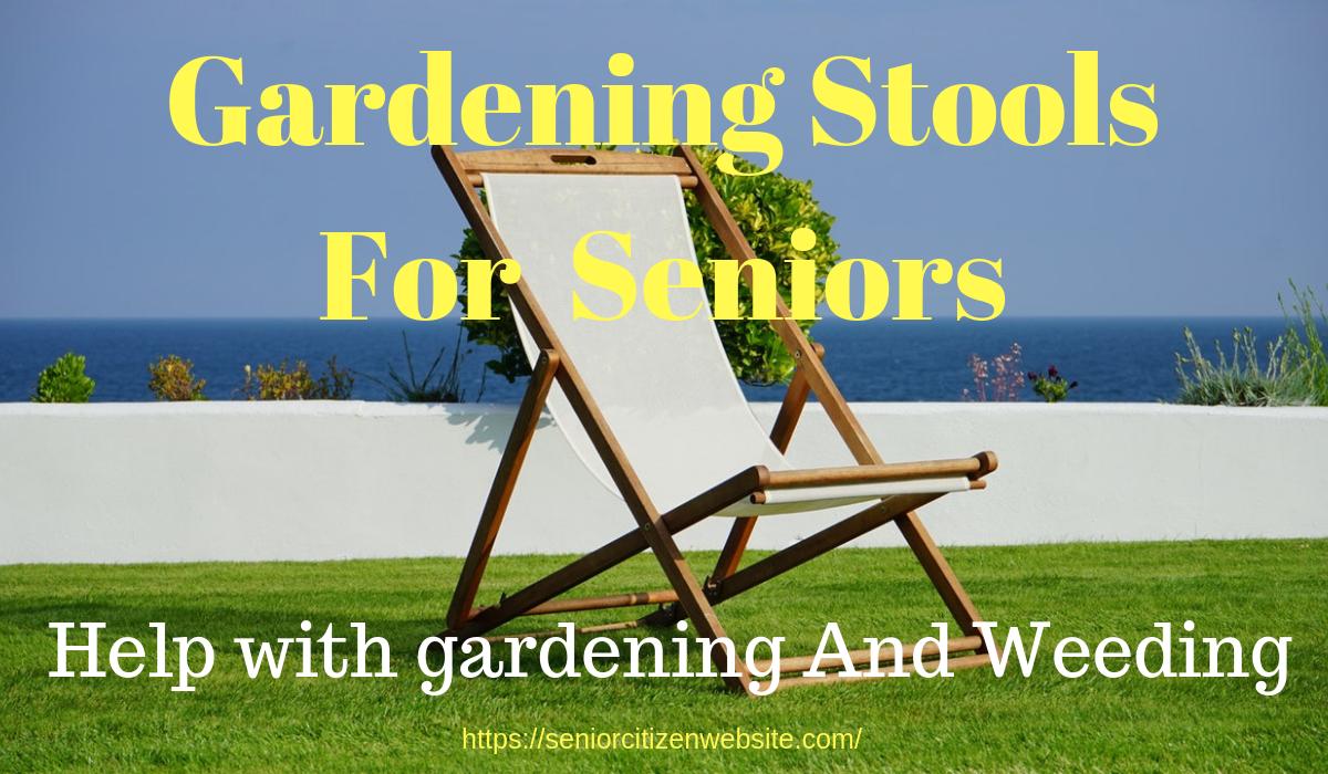gardening stools to sit on
