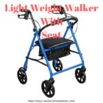 lightweight walker with seat