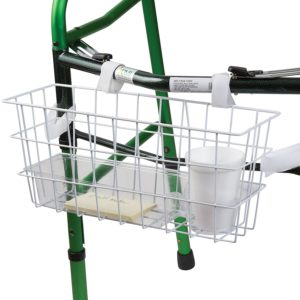 health smart universal walker basket