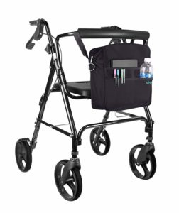 travel tote for rollator, walker and wheelchair