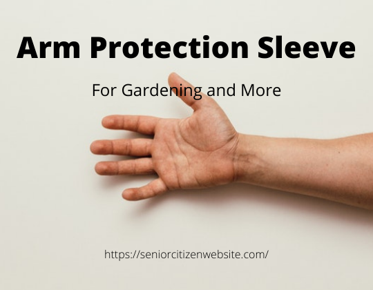 arm protection sleeve for gardening