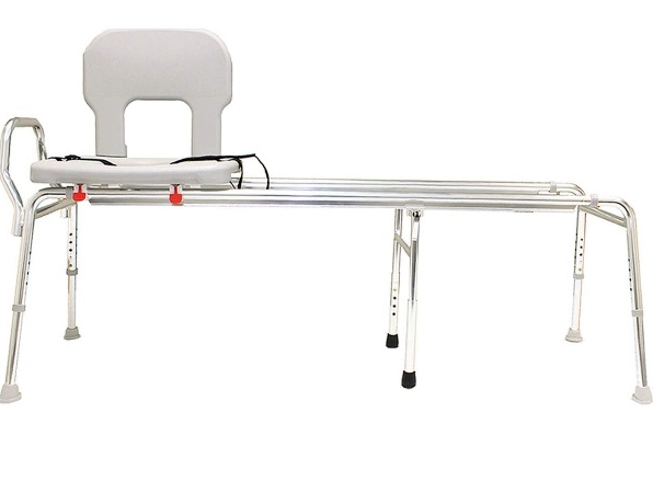 Extra Long Toilet To Tub Sliding Transfer Bench