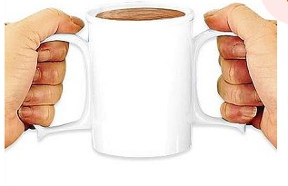 two handled mug for seniors